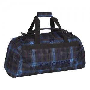Chiemsee-Bolsa-de-viaje-Chiemsee-5060007-Matchbag-Medium-Reisetaschesporttasche-In-Check-Magnet-56x28x28-Cm-56-cm-negro-CHECK-MAGNET-5060007-0
