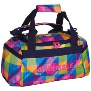 Chiemsee-Bolsa-de-viaje-Chiemsee-5060009-Matchbag-X-small-Reisetaschesporttasche-In-Plaid-Blazing-44x22x21-Cm-44-cm-multicolor-PLAID-BLAZING-5060009-0