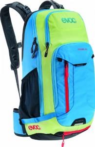 EVOC-Performance-Rucksack-Roamer-Mochila-de-ciclismo-pequea-impermeable-sistema-de-hidratacin-color-azul-verde-lima-talla-28-x-16-x-52-cm-0