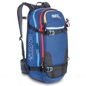 EVOC-Protektor-Rucksack-Fr-Guide-Pack-de-esqu-de-descenso-libre-color-azul-talla-56-x-27-x-22-cm-0