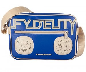 Fydelity-G-Force-Namesake-Bolso-con-sistema-para-lector-MP3-estreo-color-azul-0