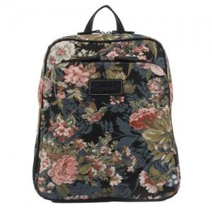 Handbag-Queen-Bolso-mochila-de-lona-para-mujer-green-pink-Large-Large-UK-0
