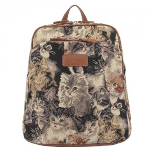 Handbag-Queen-Bolso-mochila-de-lona-para-mujer-multicolor-Large-Large-UK-0