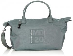 Mandarina-Duck-MD20-LUX-TRACOLLA-BLACK-METAL-FBTU2-Bolso-para-mujer-color-negro-talla-65x34x32-cm-0
