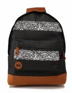 Mi-Pac-Bandana-Mochila-infantil-color-negro-talla-FR-41-cm-0