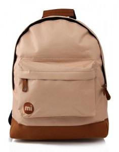 Mi-Pac-Classic-Mochila-infantil-color-marrn-talla-FR-41-cm-0