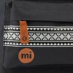 Mi-Pac-Nordic-Black-Bolsa-escolar-color-negro-negro-talla-FR-33-cm-0-1