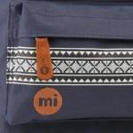 Mi-Pac-Rucksack-Mini-Nordischer-Stil-Mochila-infantil-color-azul-talla-DE-33-x-25-x-12-cm-0-1