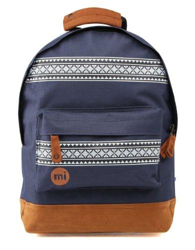 Mi-Pac-Rucksack-Mini-Nordischer-Stil-Mochila-infantil-color-azul-talla-DE-33-x-25-x-12-cm-0