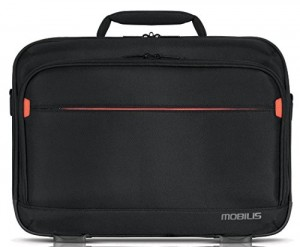 Mobilis-Executive-21-Funda-4064-cm-16-Maletn-Negro-Rojo-414-cm-31-cm-85-cm-Montono-0
