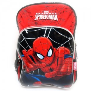 Mochila-Spidermanrojo-negro-40-cm-0