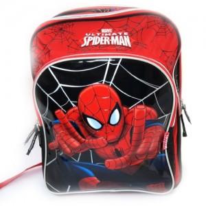 Mochila-Spidermanrojo-negro-42-cm-0