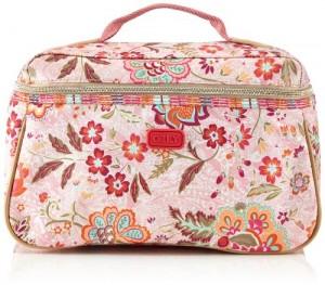 Oilily-Summer-Blossom-L-Beauty-Case-OCB4117-320-Neceser-para-mujer-color-rosa-talla-29x18x13-cm-0