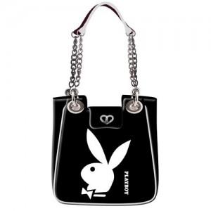 Playboy-85419-Bolso-de-gimnasio-color-blanco-talla-42-cm-0
