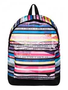 Roxy-Mochila-tipo-casual-Be-Young-23-litros-Rosa-Brazilian-Stripe-Fandango-Pink-0