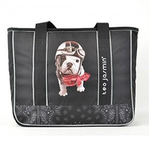 Teo-Jasmin-Trendy-Dog-Teo25474-Bolsa-Shopping-A4-Negro-0