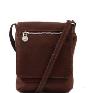 Tuscany-Leather-Sasha-Bolso-unisex-en-piel-suave-Marrn-0