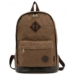 iBaste-mochila-escolar-mochila-lona-morral-de-la-taleguilla-bolso-de-hombro-ordenador-porttil-Bolsas-caqui-0